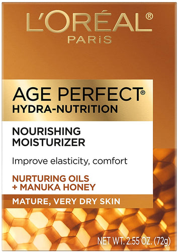 L'Oreal Paris, Age Perfect Hydra-Nutrition Day Cream with Manuka Honey Extract 2.55 oz.