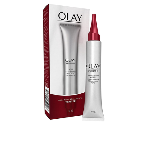 Wrinkle Cream by Olay Regenerist Instant Fix Wrinkle & Pore Vanisher, 1.0 Fl Oz