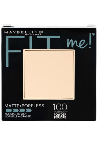 Maybelline New York Fit Me Matte + Poreless Powder Makeup
