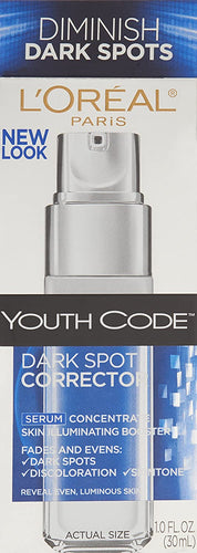 L'Oreal Paris, Youth Code Anti-Aging Serum, Non-greasy, 1.0 oz