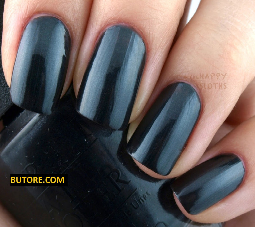 OPI BLACK DRESS NOT OPTIONAL