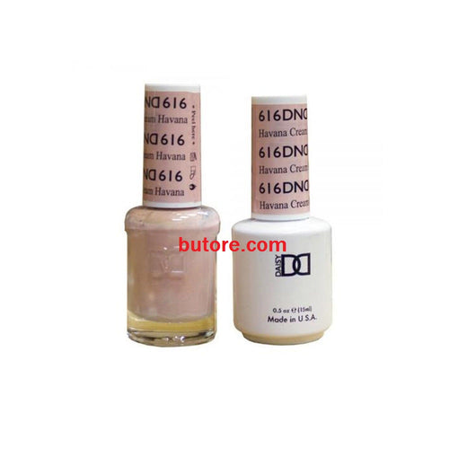 DND Daisy LED/UV Soak Off Gel-Polish (616-havana cream) Duo 0.5oz