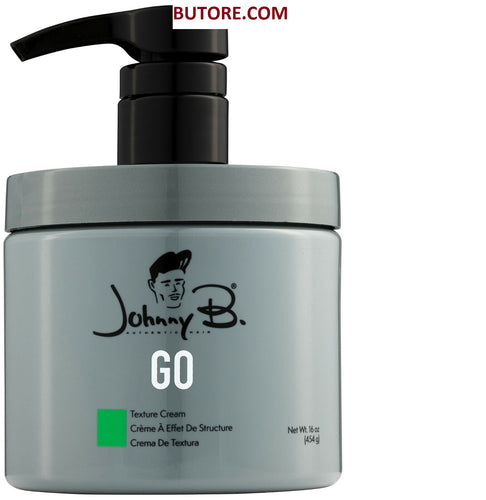 Johnny B GO Texture Cream With Pump (16 oz)