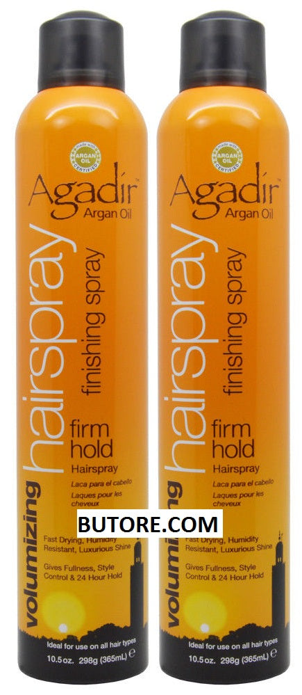 Argan Oil Volumizing Hair Spray Firm Hold 10.5oz