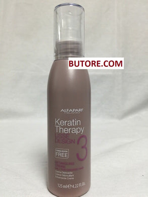 Alfa Parf Lisse Design Keratin Therapy Detangling Cream for Damaged Hair 4.22 oz