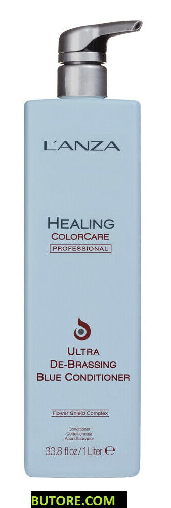 Lanza Advanced Healing Colorcare De-Brassing Blue Conditioner 33.8 oz