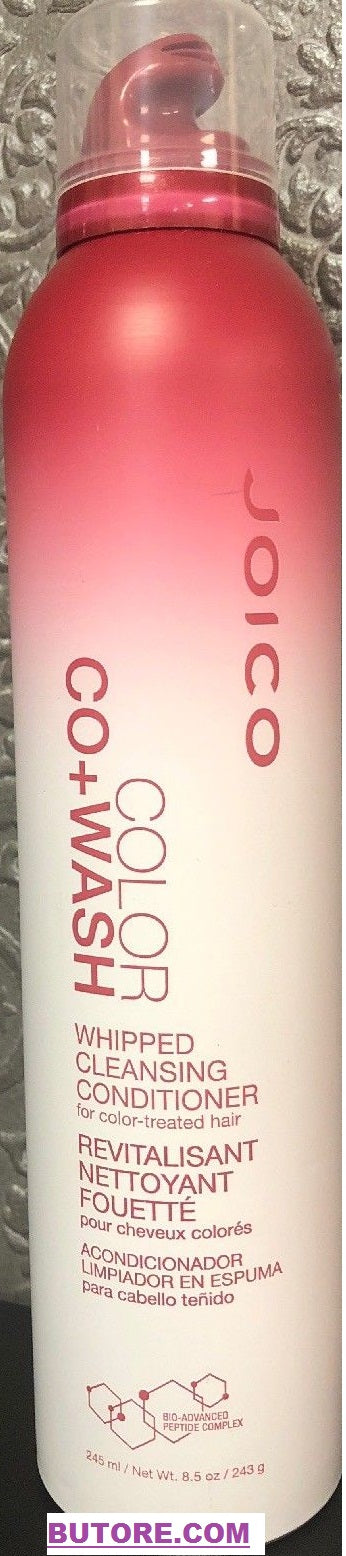 Joico COLOR Co+Wash Whipped Cleansing Conditioner For Color Treated Hair 8.5 Oz
