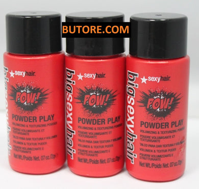 Big Sexy Hair Powder Play Volumizing & Texturizing Powder 07oz./2g (LOT OF 3)