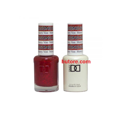 DND Daisy LED/UV Soak Off Gel-Polish (625-merry von) Duo 0.5oz