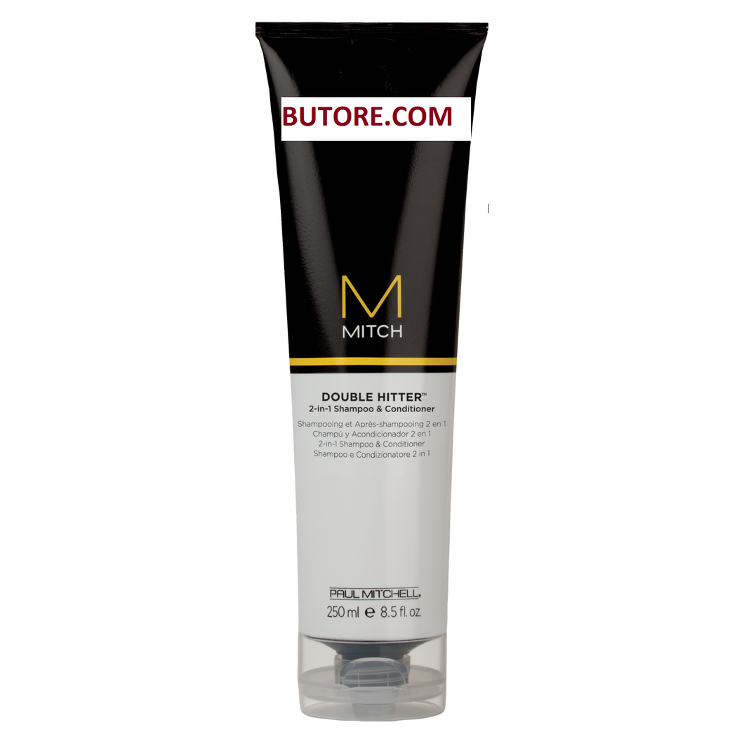 Paul Mitchell Mitch Double Hitter 2-in-1 Shampoo & Conditioner 8.5 oz