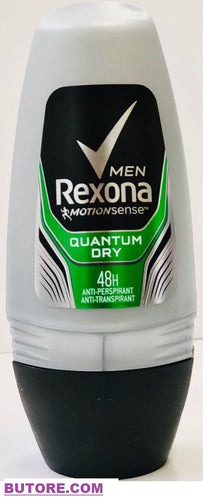 Rexona Quantum Dry Antiperspirant Roll on for Men 48 hours