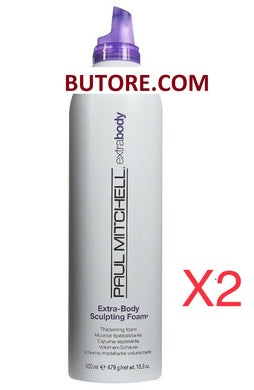 PAUL MITCHELL ExtraBody Sculpting Foam (2pack) 16.9oz