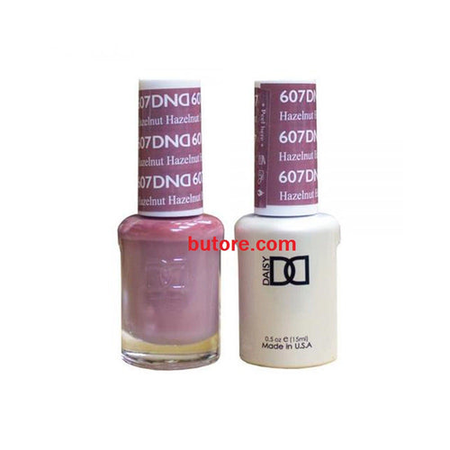 DND Daisy LED/UV Soak Off Gel-Polish (607-hazelnut) Duo 0.5oz