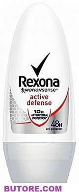 Rexona Roll On Active Defense Anti Transpirant Bacterial 48 hr.