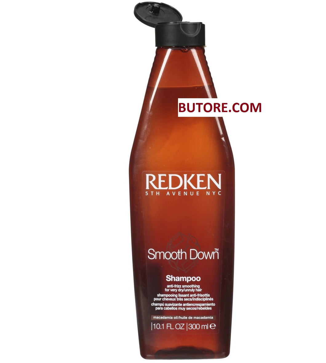 REDKEN SMOOTH DOWN SHAMPOO Anti-Frizz Dry Unruly Hair 8.5 Oz