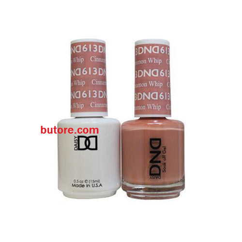 DND Daisy LED/UV Soak Off Gel-Polish (613-cinnamon whip) Duo 0.5oz