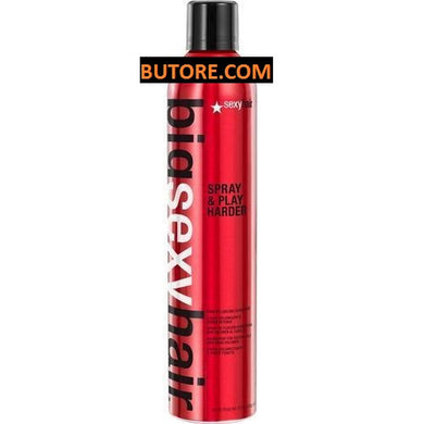 Big Sexy Hair Spray & Play Harder Firm Volumizing Hairspray (10 oz)
