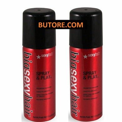 Big Sexy Spray And Play Hair Spray - 1.5 Ounce Hair Spray Pack of 2