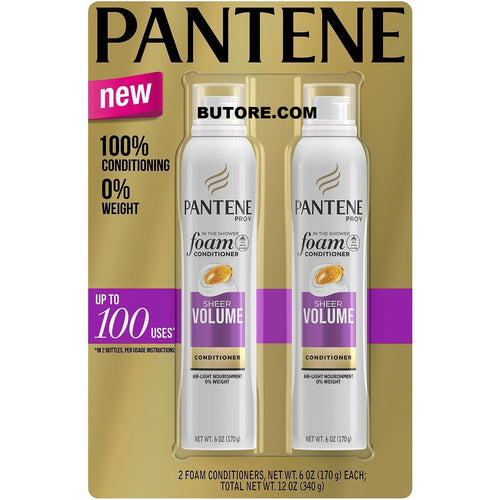 Pantene Pro-V Sheer Volume Foam Aerosol Can Conditioner ( 6 oz., 2 pk.)