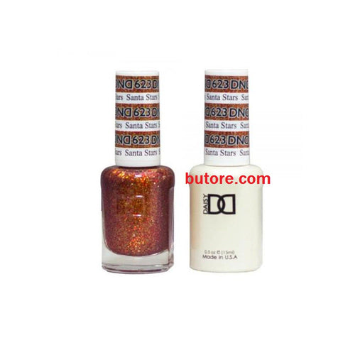 DND Daisy LED/UV Soak Off Gel-Polish (623-santa stara) Duo 0.5oz