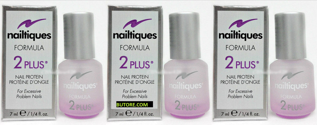 Nailtiques Formula 2 Plus Protein 0.25oz - Pack of 3