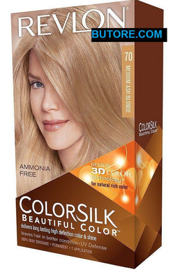 Colorsilk Hair Coloring (Medium Ash Blonde) #70