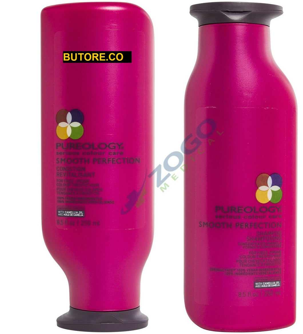 Pureology Smooth Perfection Shampoo and Conditioner Duo Set - 8.5 oz