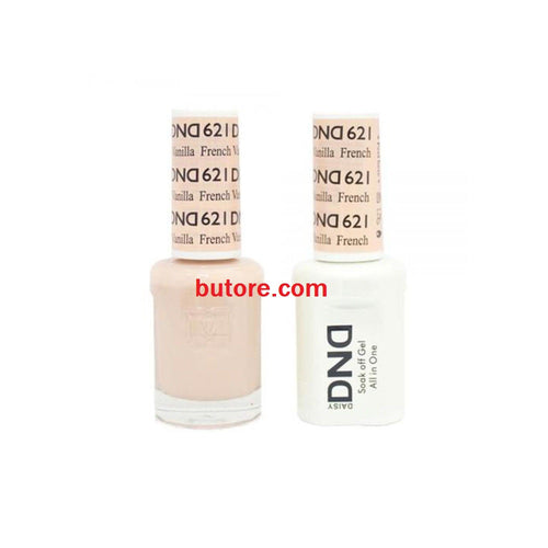 DND Daisy LED/UV Soak Off Gel-Polish (621-french vanilla) Duo 0.5oz
