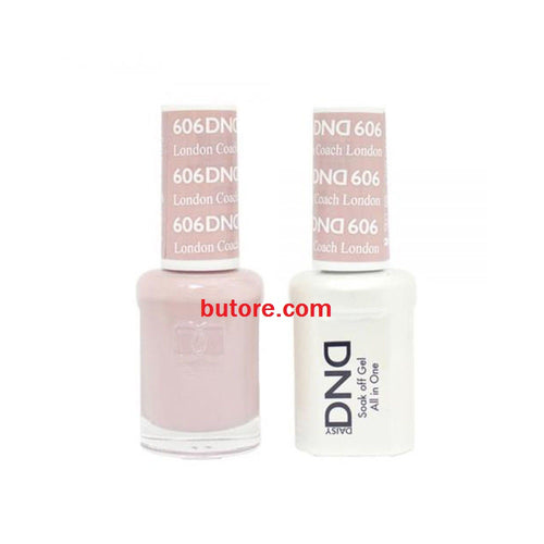 DND Daisy LED/UV Soak Off Gel-Polish (606-london coach) Duo 0.5oz