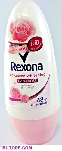 Rexona Roll On FRESH ROSE Advance Whitening Women Deodorant 48 Hr.