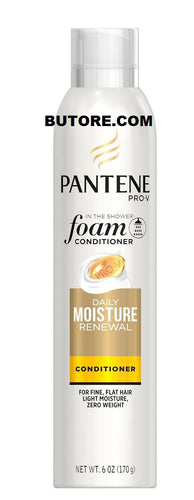 Pantene Pro-V In The Shower Foam Daily Moisture Renewal Hair Conditioner, 6 Oz
