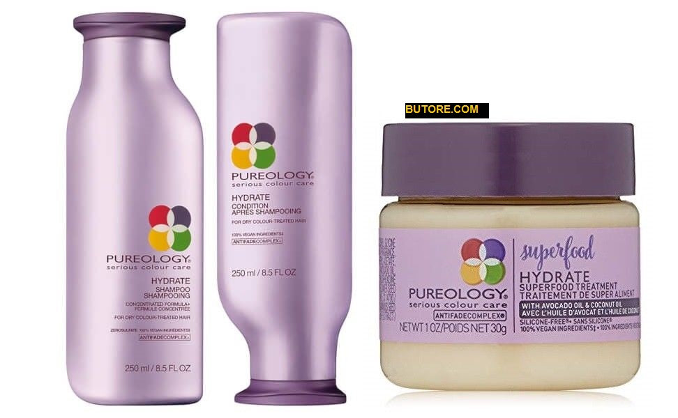 PUREOLOGY Hydrate Shampoo, Hydrate Conditioner, Hydrate Superfood