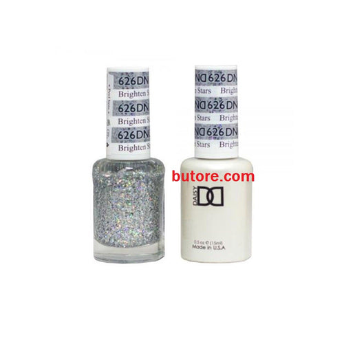 DND Daisy LED/UV Soak Off Gel-Polish (626-brigthten stars) Duo 0.5oz