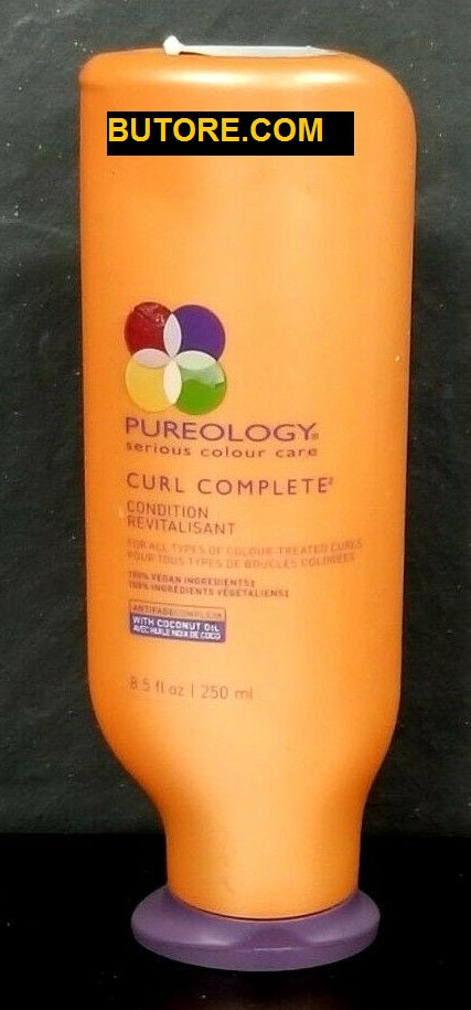 PUREOLOGY CURL COMPLETE CONDITION CONDITIONER 8.5 oz 250 ml