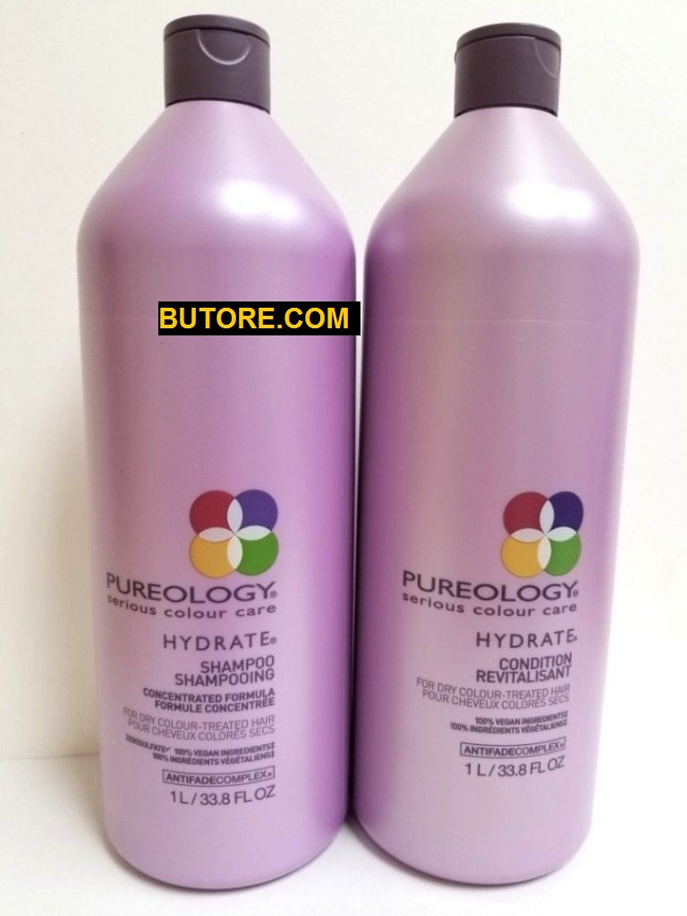 Pureology Hydrate Shampoo and Conditioner Duo/Set 33.8oz
