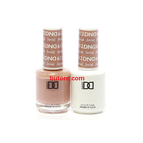 DND Daisy LED/UV Soak Off Gel-Polish (612-jovial) Duo 0.5oz
