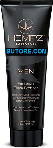 Men Exclusive Black Bronzer Tanning Bed Lotion, 9 oz