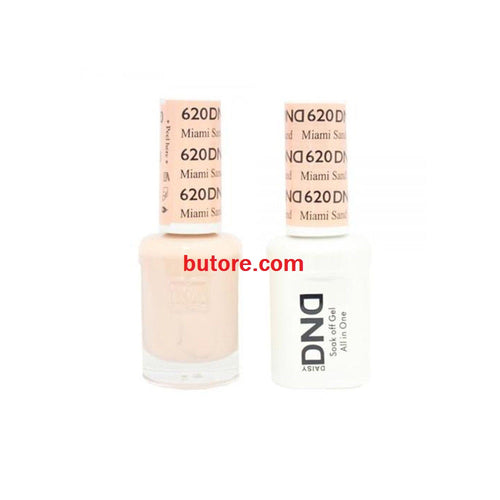 DND Daisy LED/UV Soak Off Gel-Polish (620-miami sand) Duo 0.5oz