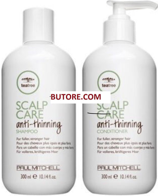 Paul Mitchell Tea Tree Scalp Care Anti-Thinning Shampoo & Conditioner 10.14 oz