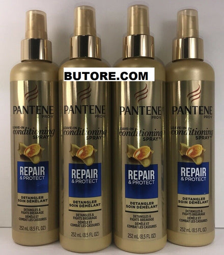 4 Pantene Pro-V, Leave-in Conditioning Spray, Repair & Protect, 8.5 oz.
