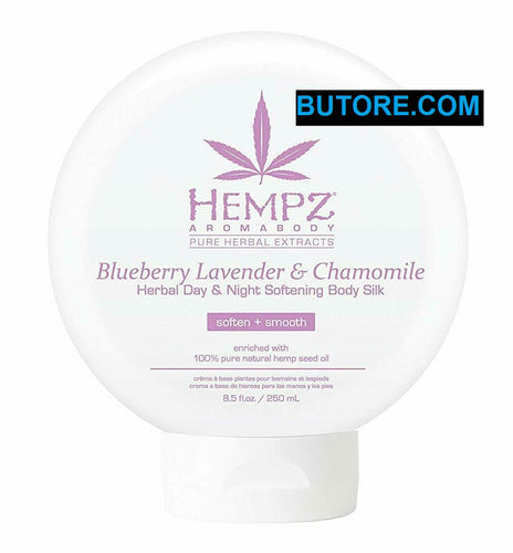 Blueberry Lavender & Chamomile Herbal Day & Night Body Silk Lotion - 8.5oz