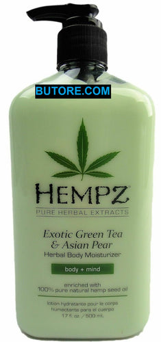 Exotic Green Tea And Asian Pear Herbal Body Moisturizer Lotion 17oz