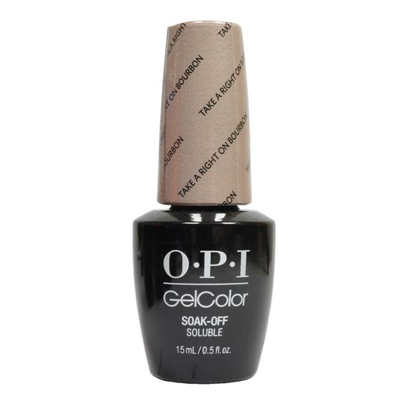 opi gel take a ring on bourbon
