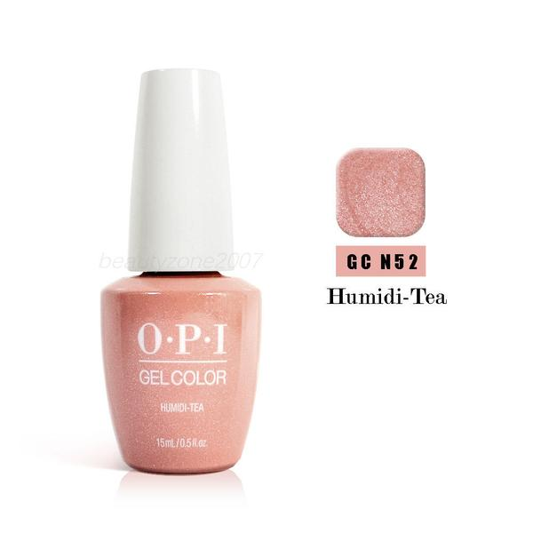 OPI  gel color humidi tea