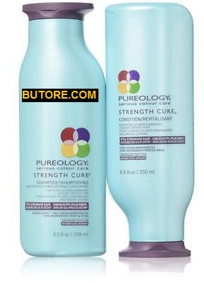 PUREOLOGY Strength Cure Shampoo and Conditioner 250 ml/ 8.5 fl. oz