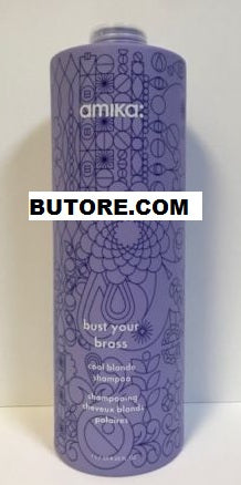 Bust Your Brass Cool Blonde Shampoo - 33.8oz LITER WITH PUMP