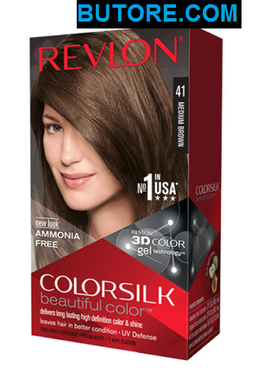Colorsilk Medium Brown 41 Beautiful Hair Color