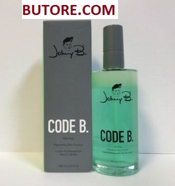 Johnny B Code B Hair Prep Spray - 3.3oz
