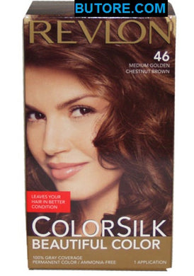ColorSilk Beautiful Color, 46 Golden Chestnut Brown