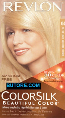 ColorSilk Beautiful Color Ultra Light Natural Blonde #4